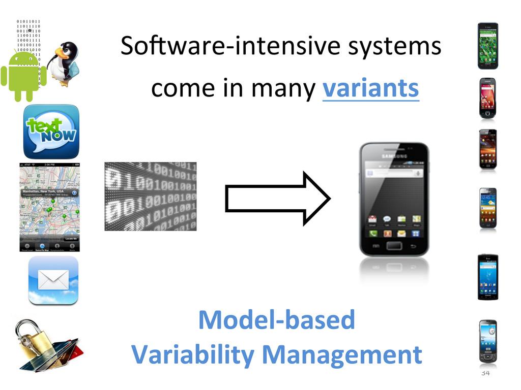 34  So6ware-‐intensive systems  come...