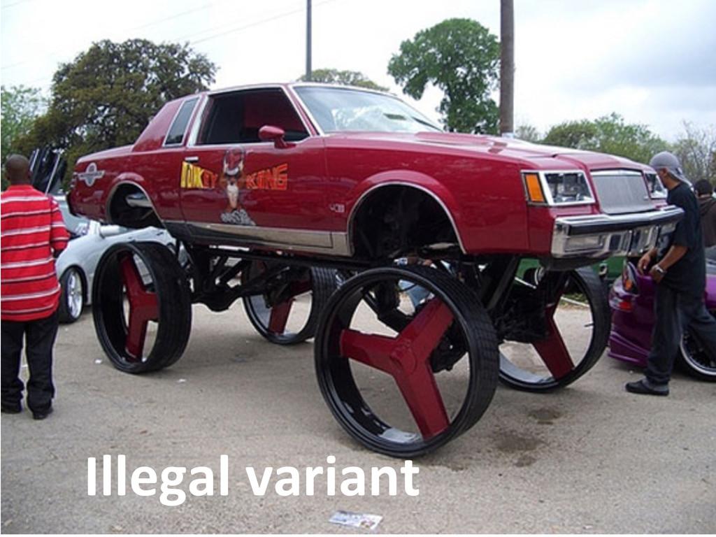 71  Illegal variant