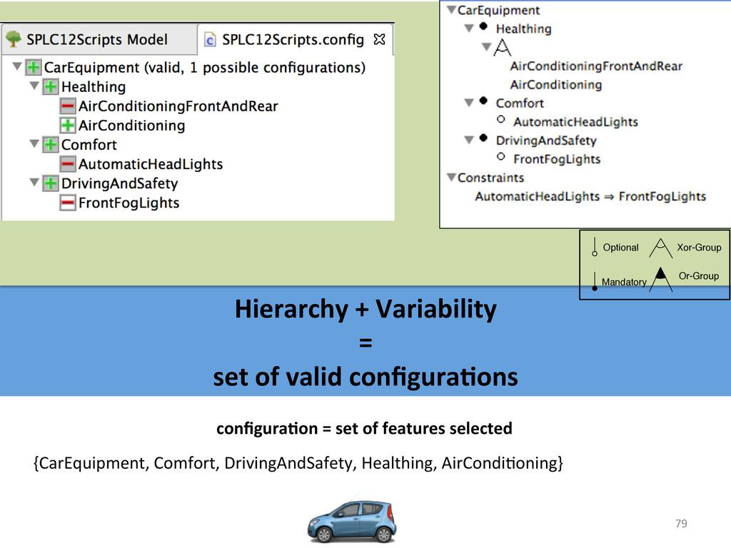 79  Hierarchy + Variability   =...