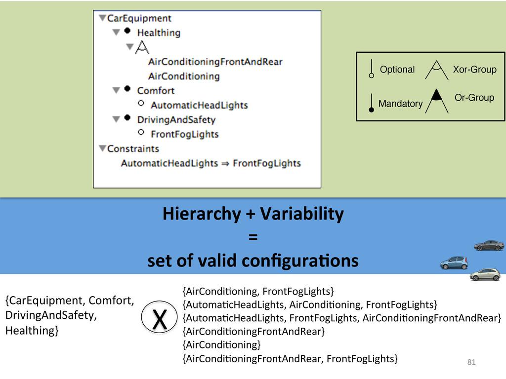 81  Hierarchy + Variability   =...