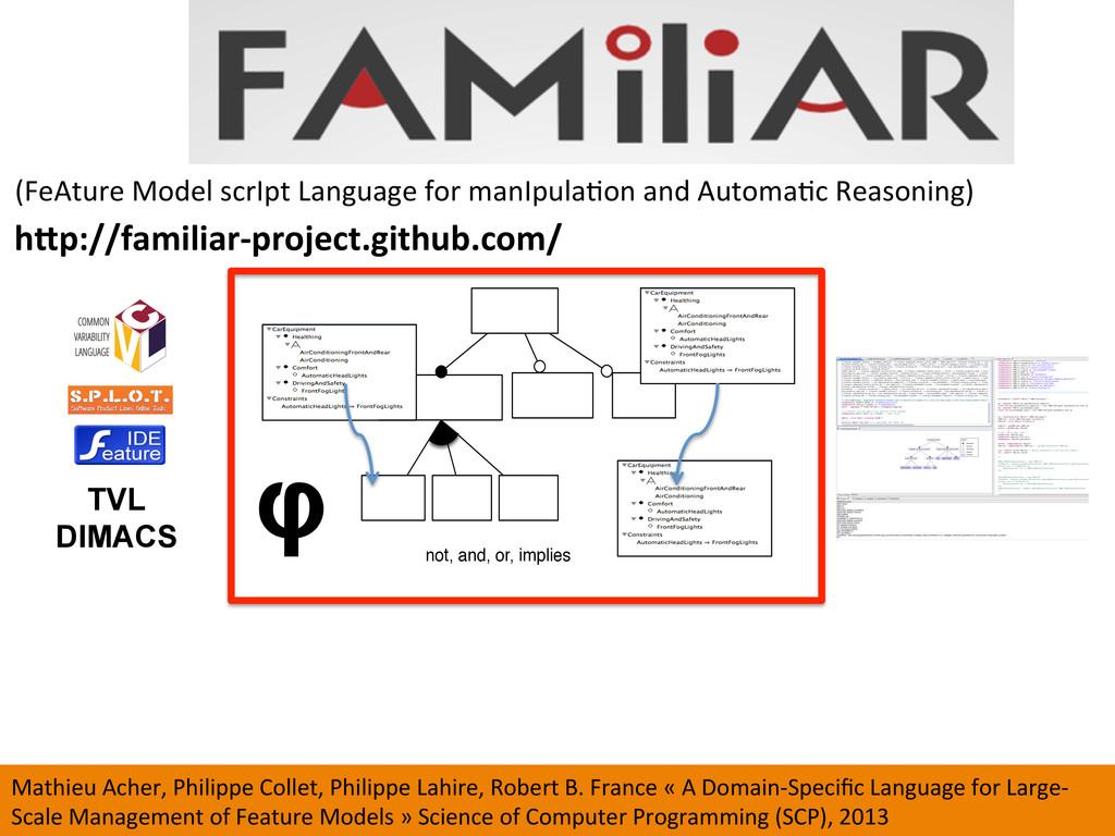 (FeAture Model scrIpt Language ...