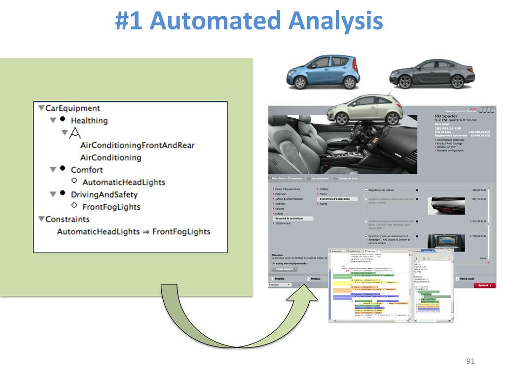 #1 Automated Analysis  91