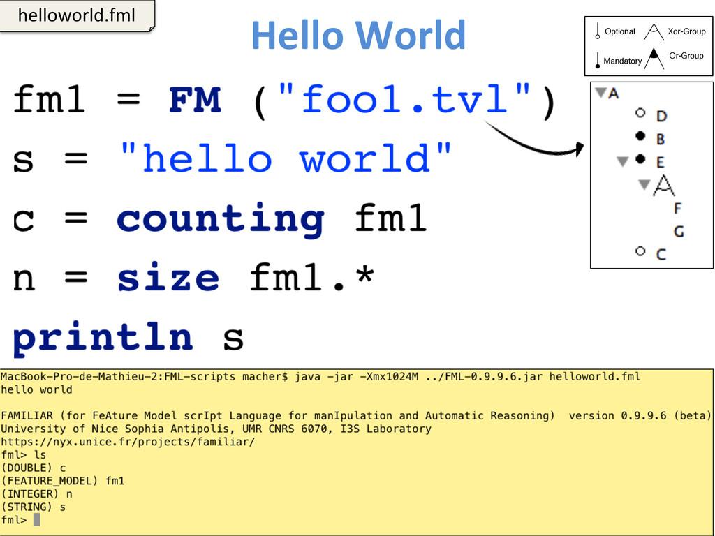 Hello World  97  helloworld.fml  Op...