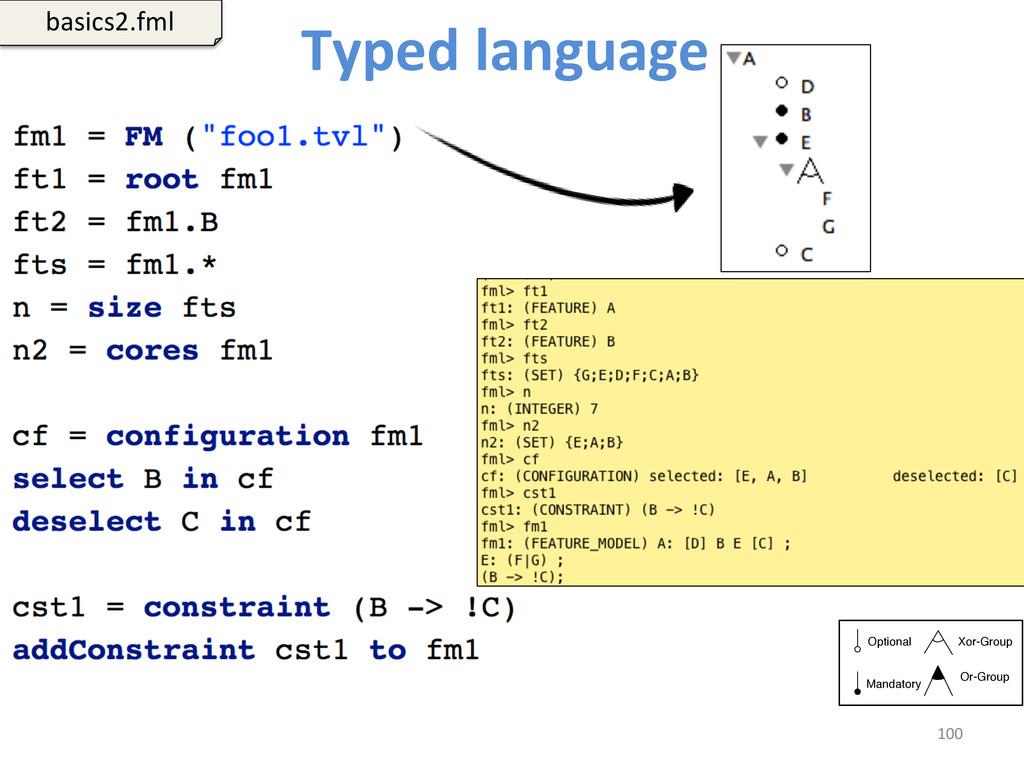 Typed language   100  basics2.fml...