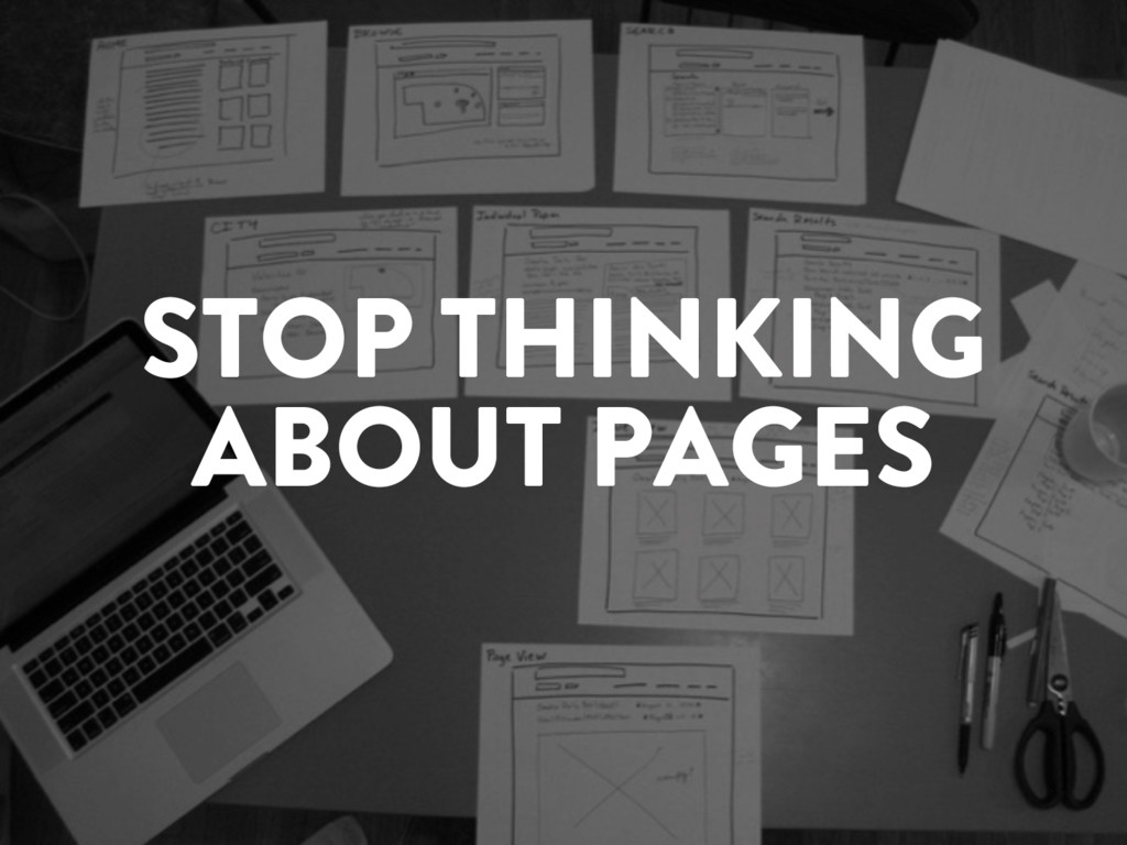 @marktimemedia STOP THINKING ABOUT PAGES