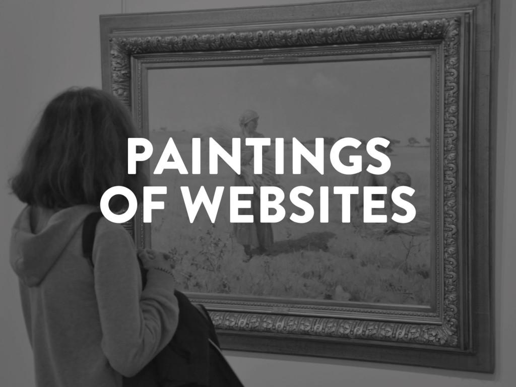@marktimemedia PAINTINGS OF WEBSITES