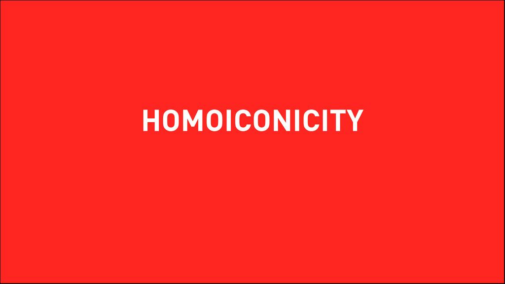 HOMOICONICITY