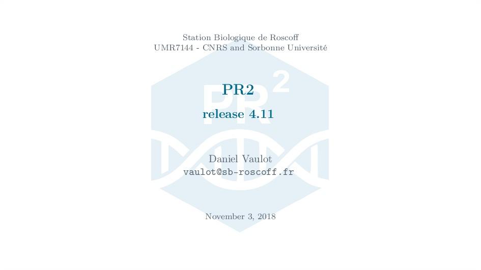 Station Biologique de Roscoff UMR7144 - CNRS and...