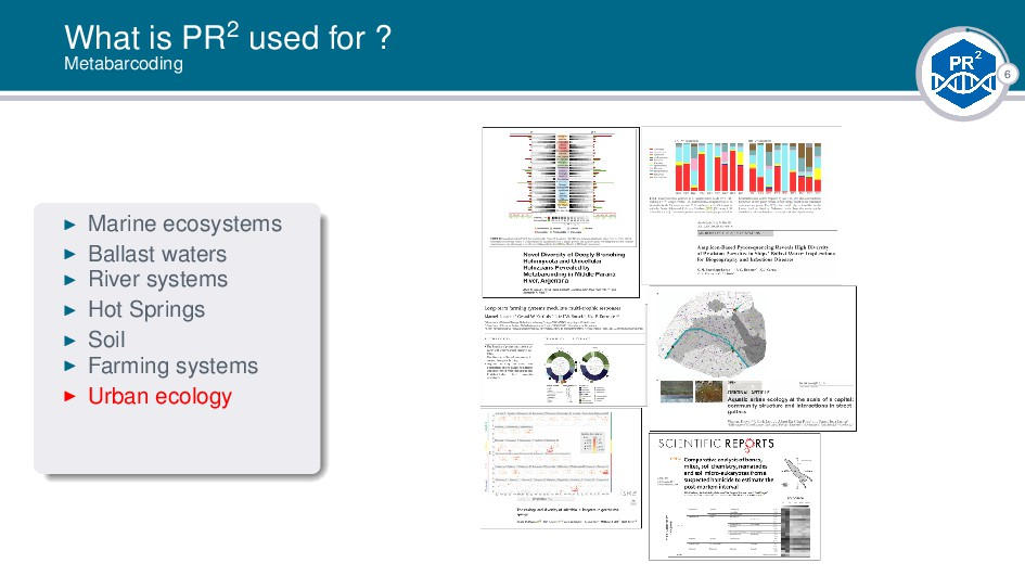 6 What is PR2 used for ? Metabarcoding Marine e...
