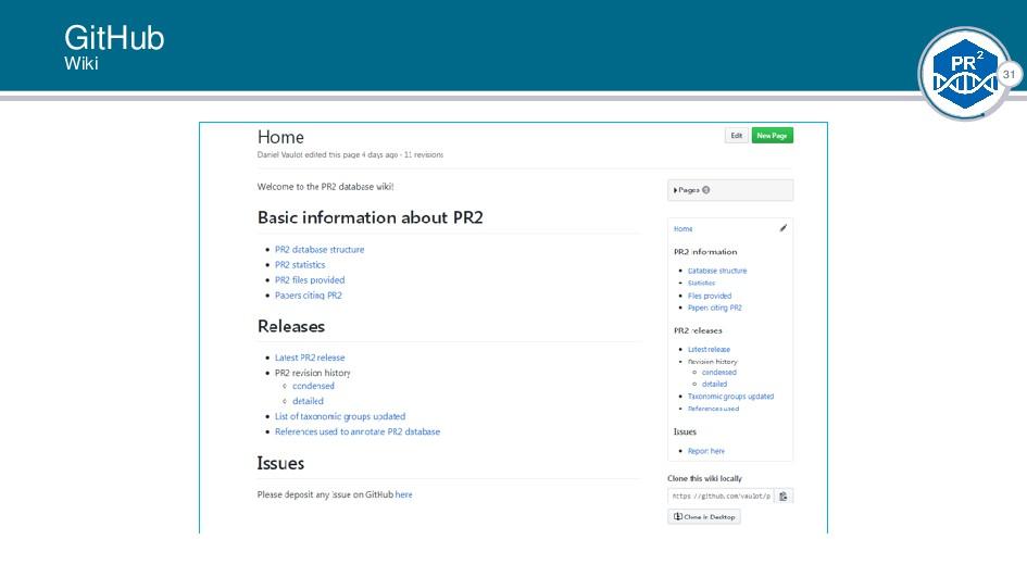 31 GitHub Wiki |