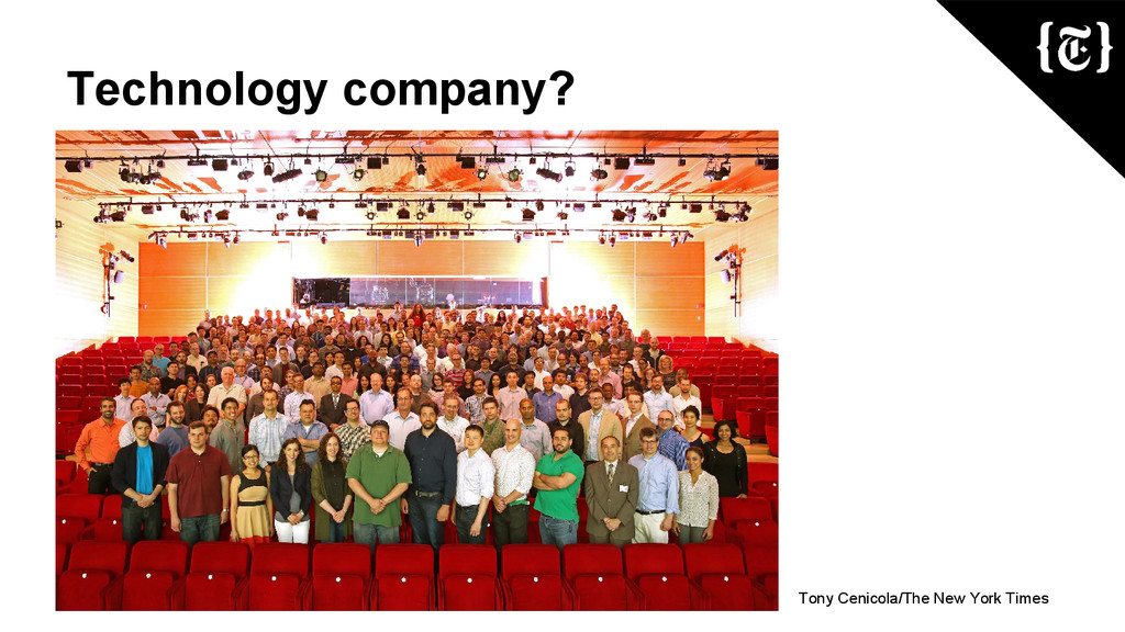 Technology company? Tony Cenicola/The New York ...