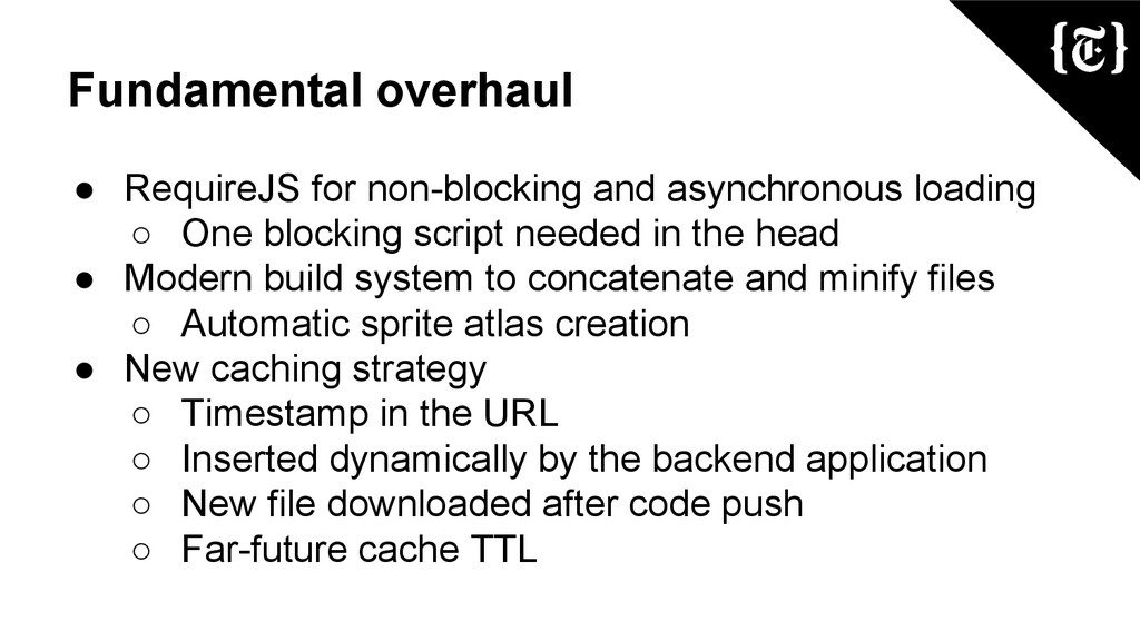 Fundamental overhaul ● RequireJS for non-blocki...