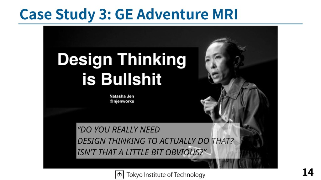 """Case Study 3: GE Adventure MRI 14 """"DO YOU REALL..."""