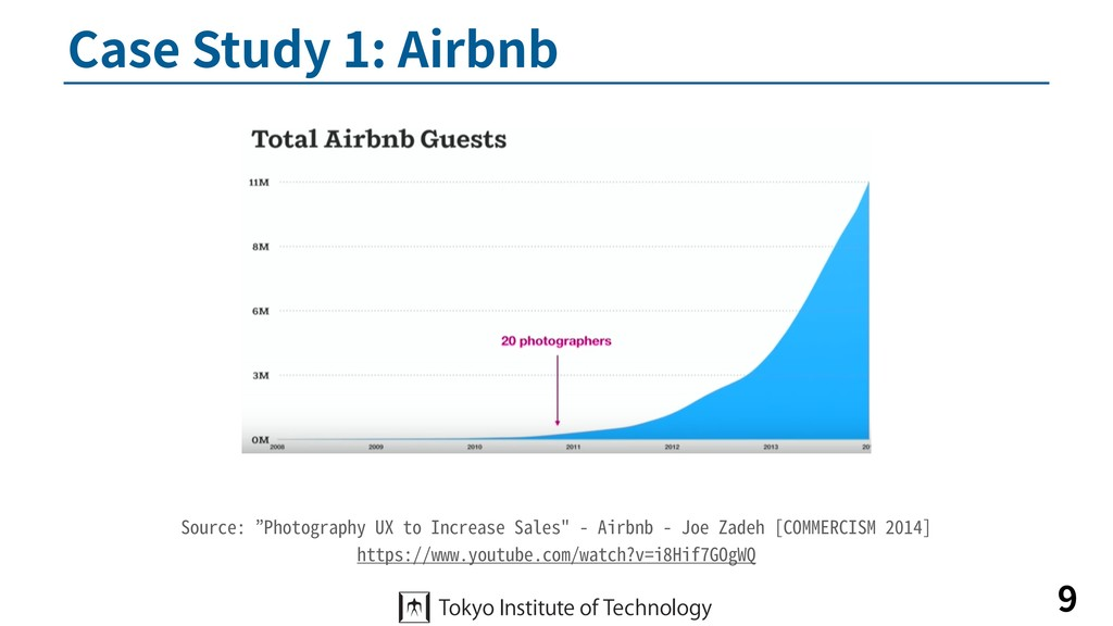 """Case Study 1: Airbnb 9 Source: """"Photography UX ..."""