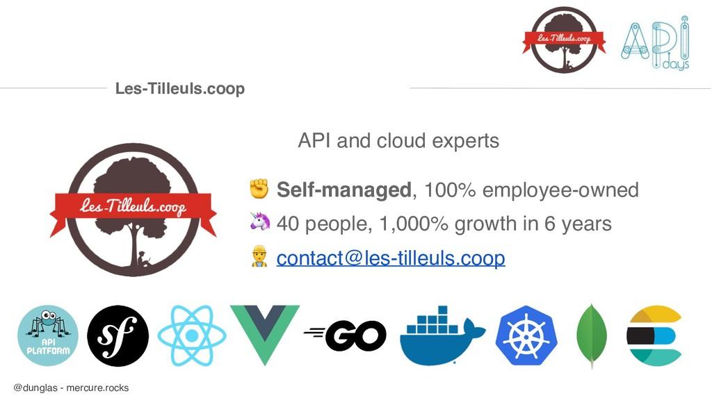 @dunglas - mercure.rocks API and cloud experts ...