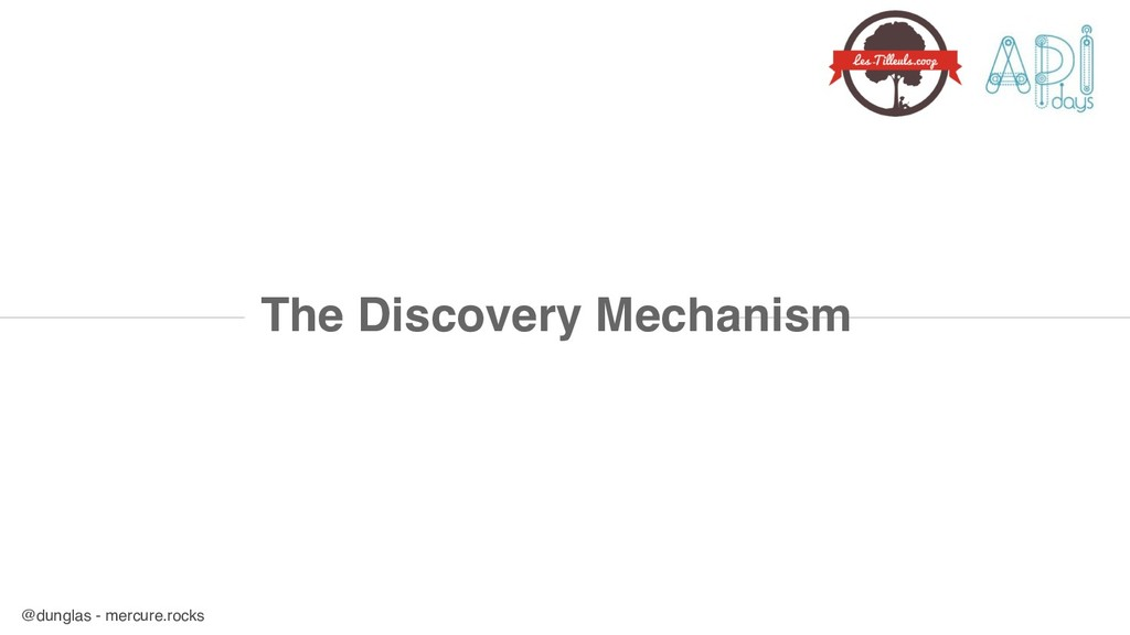 @dunglas - mercure.rocks The Discovery Mechanism