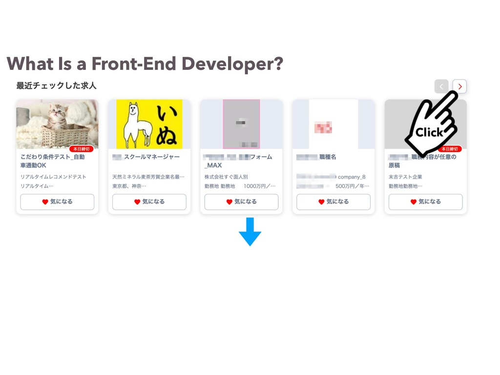 What Is a Front-End Developer? Click