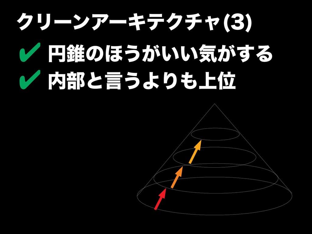 クのバージョンアリーンアーキテクのバージョンアチャやパター(3) ✔ 円錐のほうがいい気のバー...