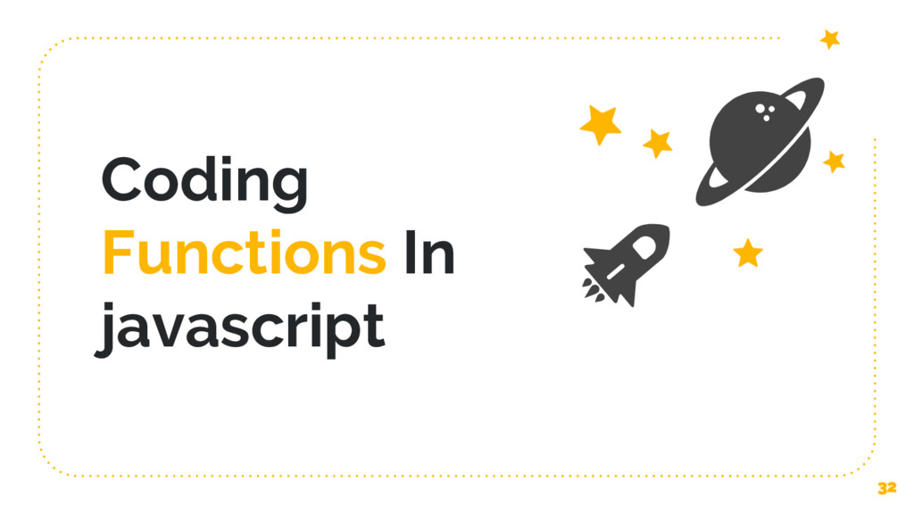 Coding Functions In javascript