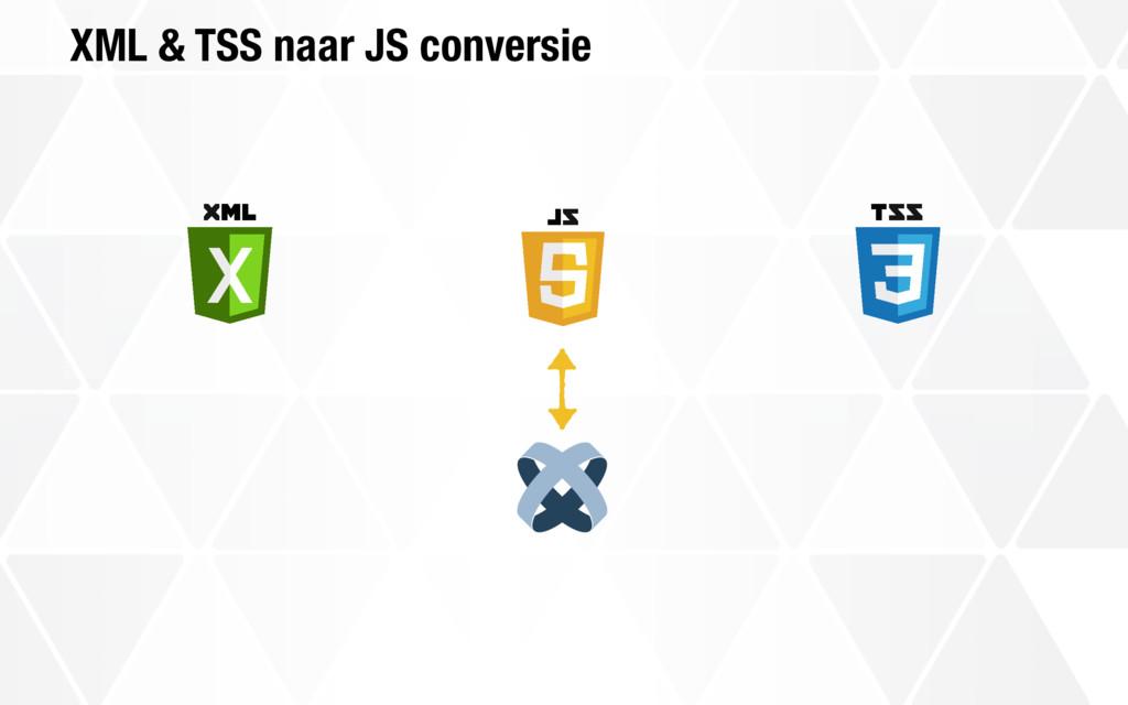XML & TSS naar JS conversie