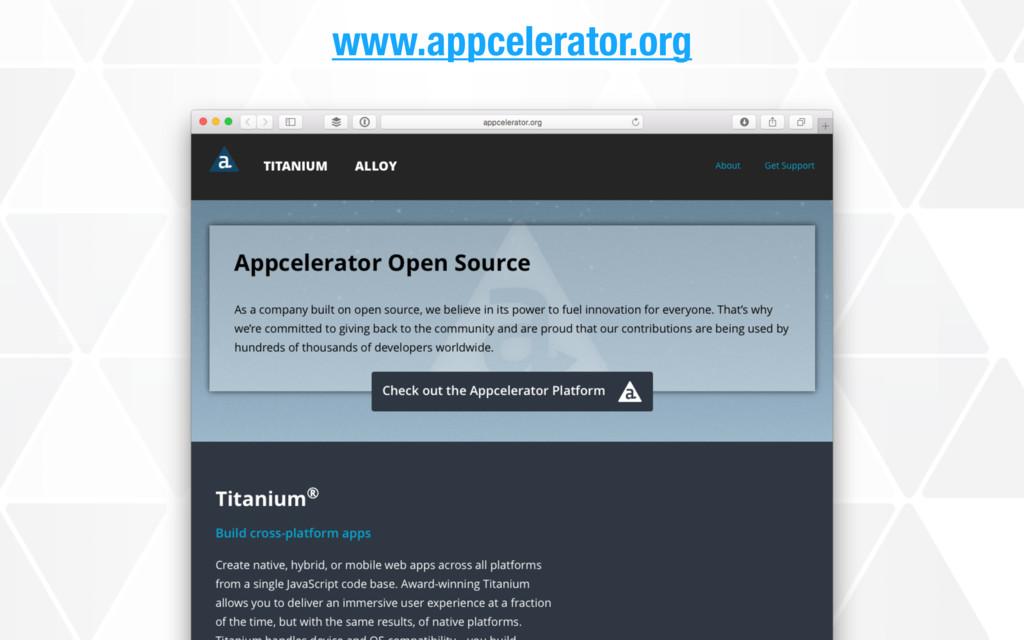 www.appcelerator.org