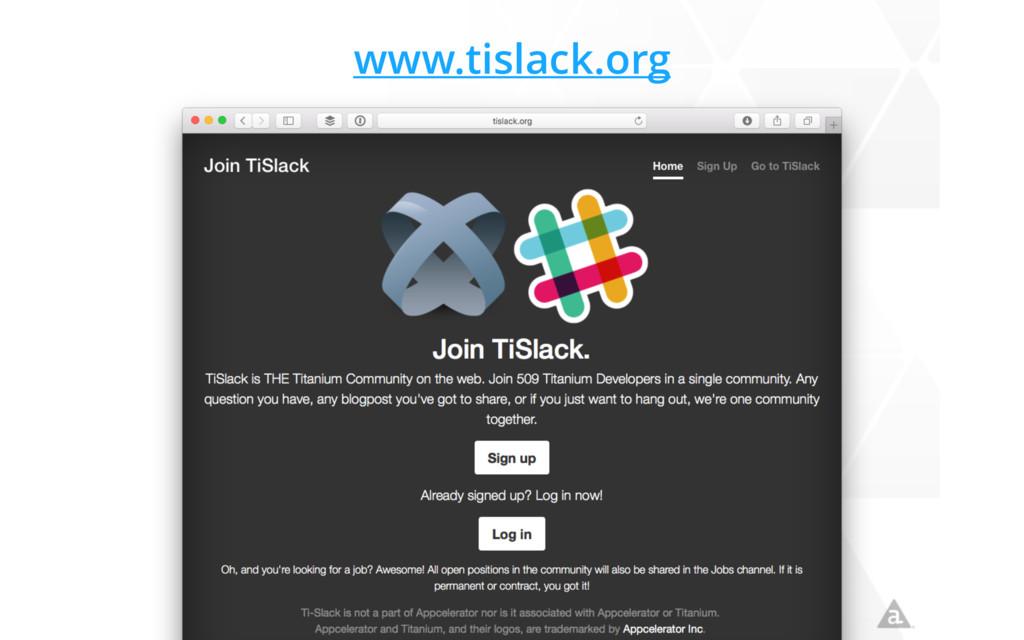 www.tislack.org