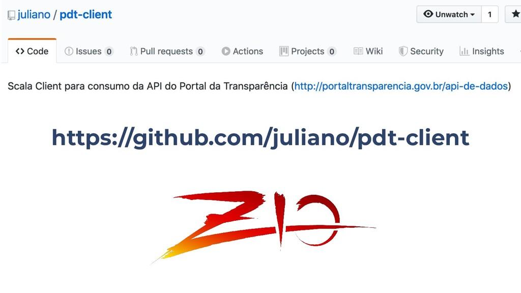 https://github.com/juliano/pdt-client