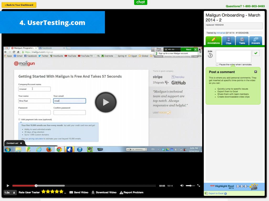 4. UserTesting.com