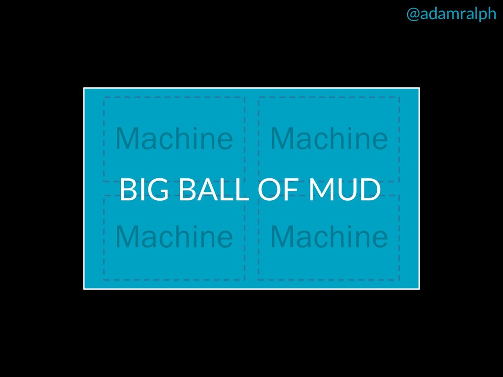 @adamralph Machine Machine Machine Machine BIG ...