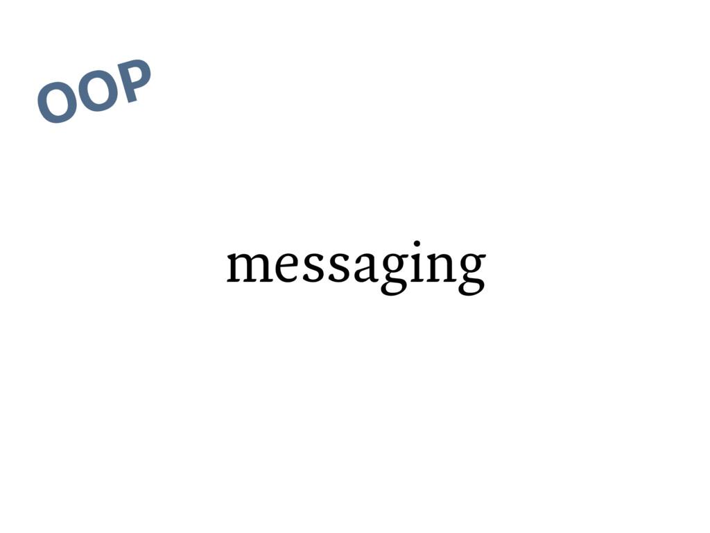 messaging OOP