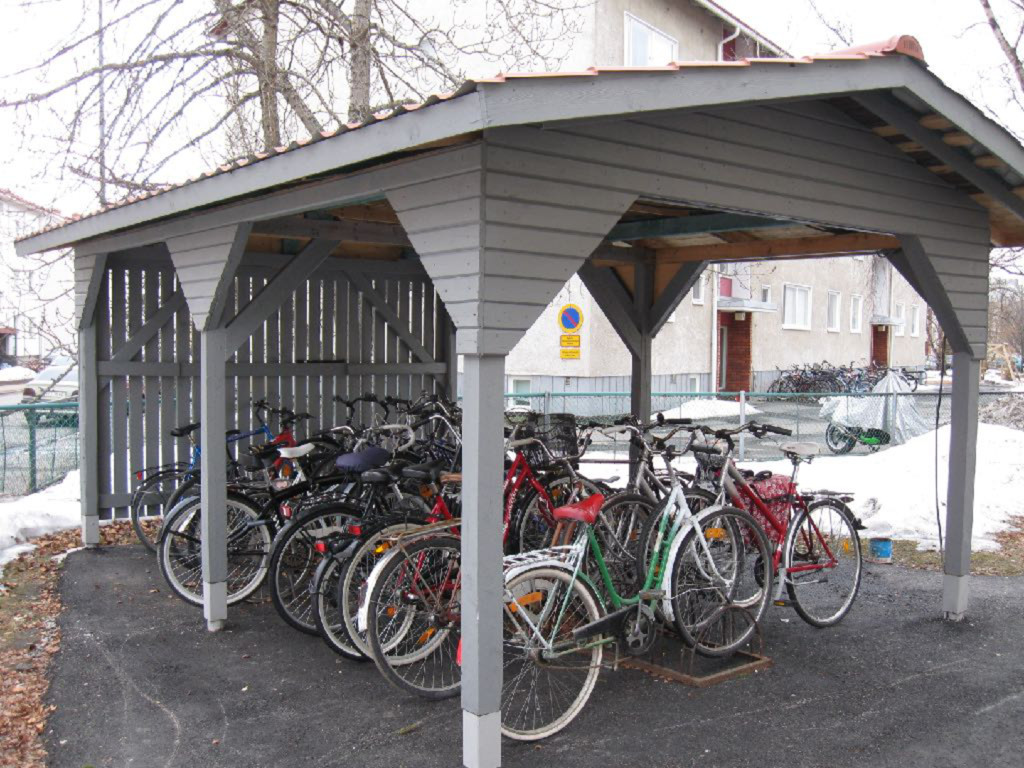 8th Light, Inc. Bike shed picture