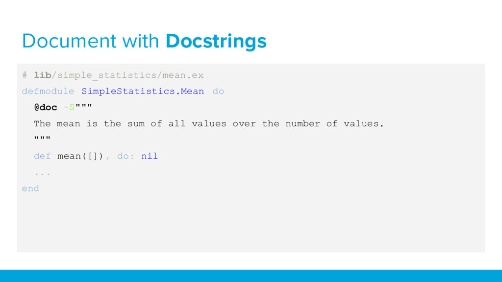 Document with Docstrings # lib/simple_statistic...