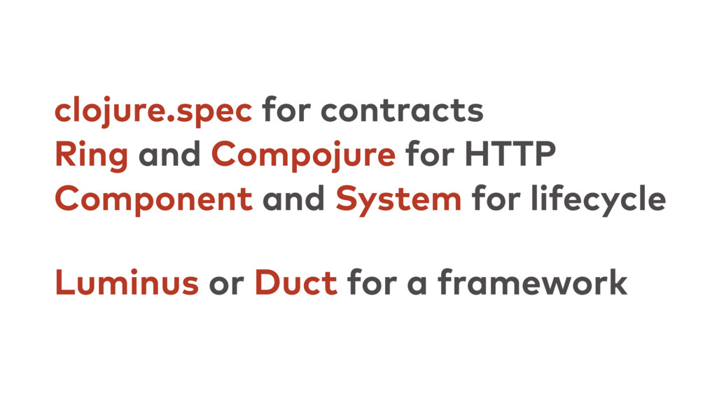clojure.spec for contracts Ring and Compojure f...