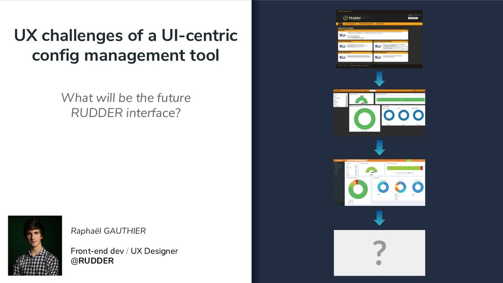 UX challenges of a UI-centric config management...