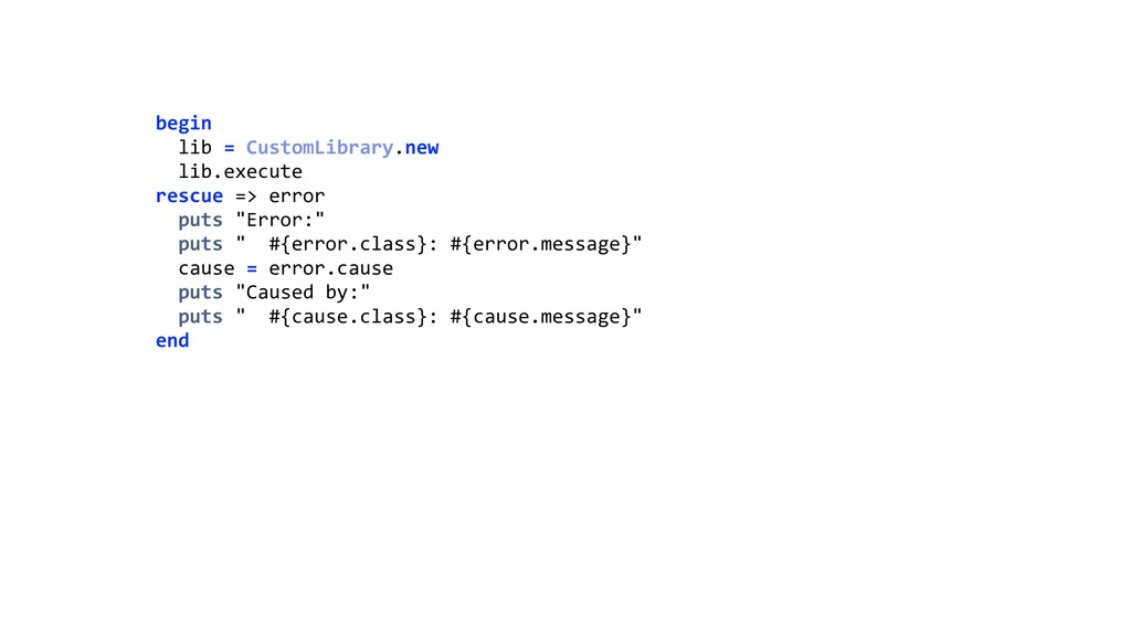 begin