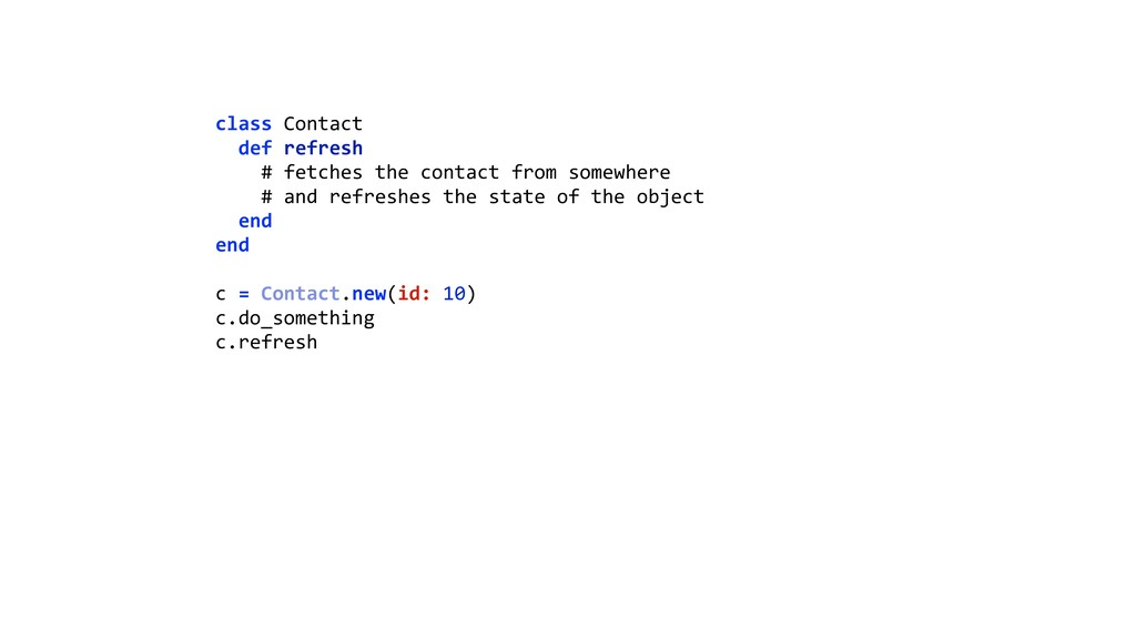 class Contact