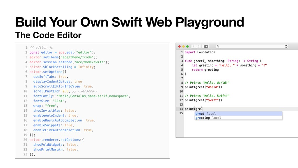 Build Your Own Swift Web Playground The Code Ed...