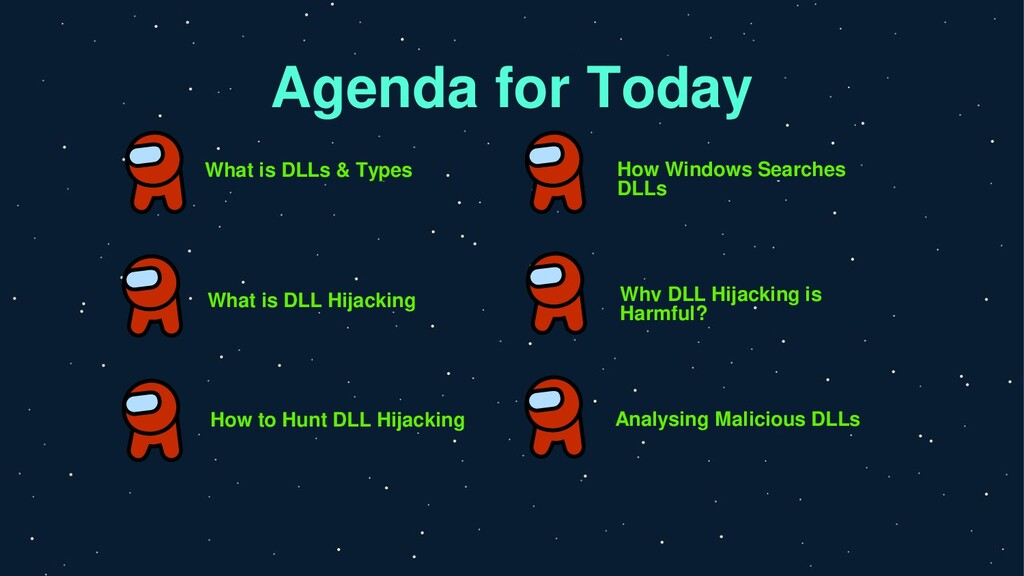 Agenda for Today What is DLLs & Types How Windo...