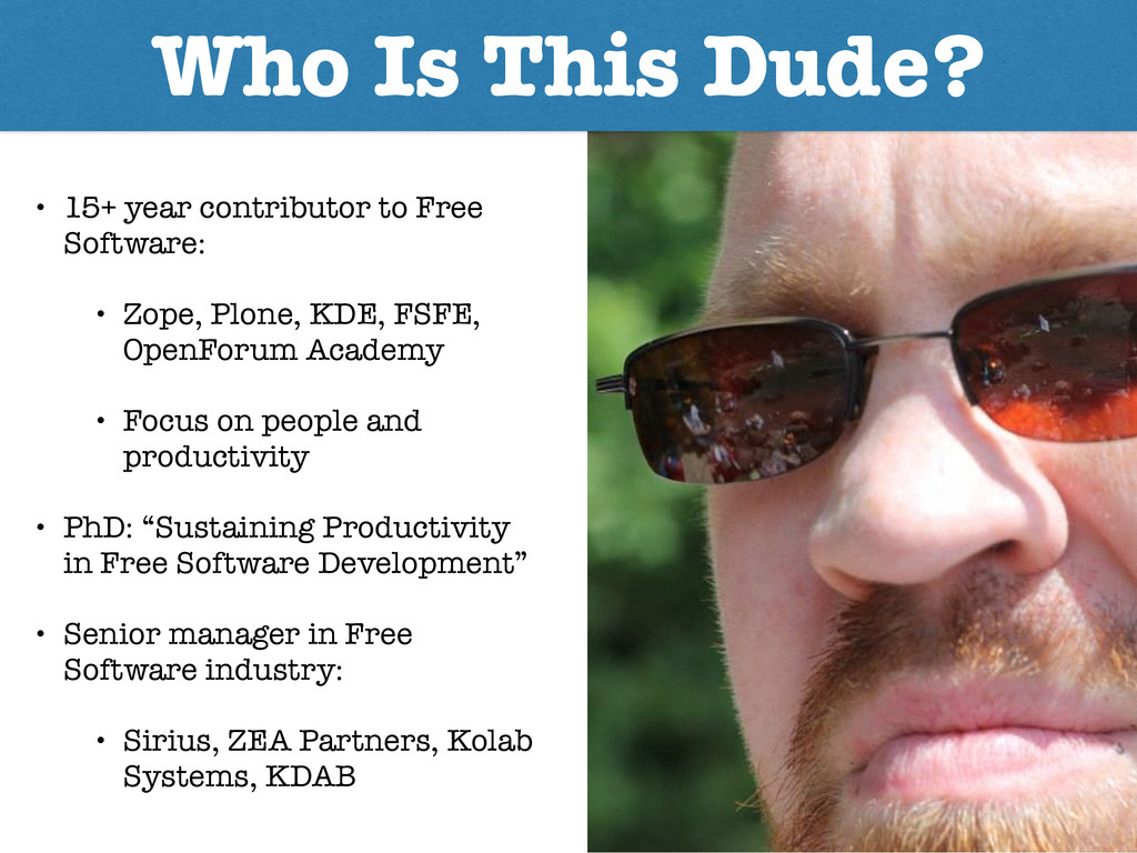 Who Is This Dude? • 15+ year contributor to Fre...