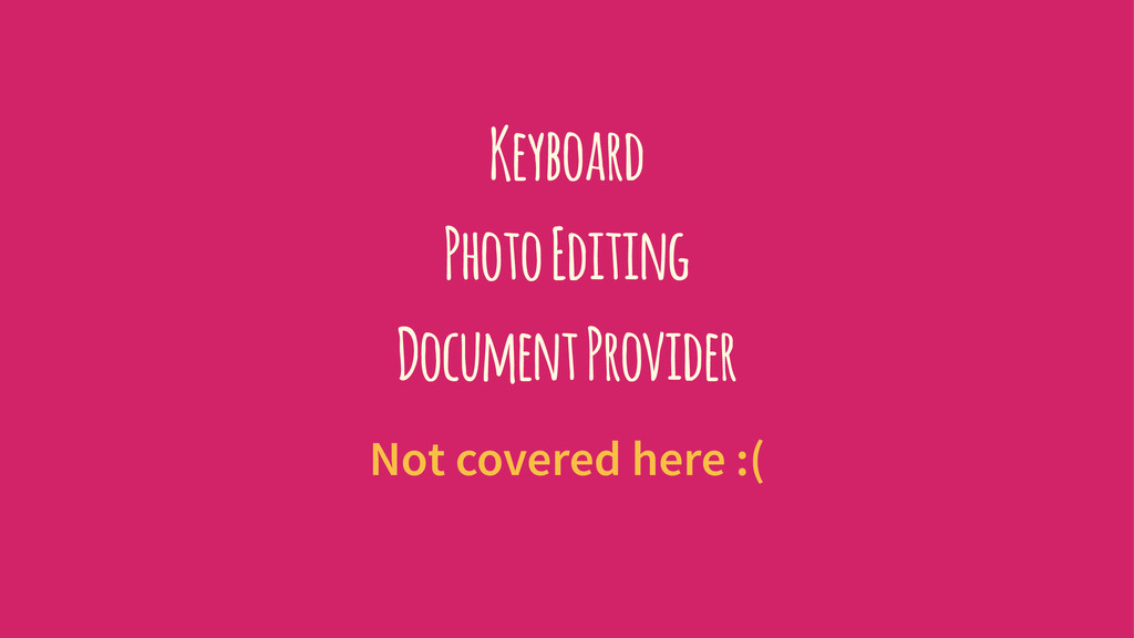 Keyboard Photo Editing Document Provider Not co...