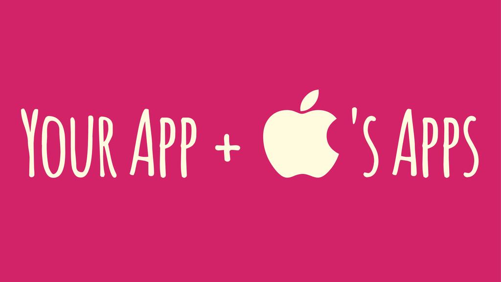 Your App + 's Apps
