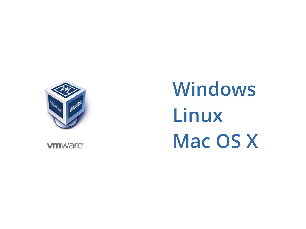 Windows Linux Mac OS X
