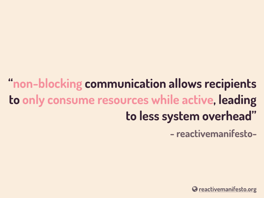 """non-blocking communication allows recipients t..."