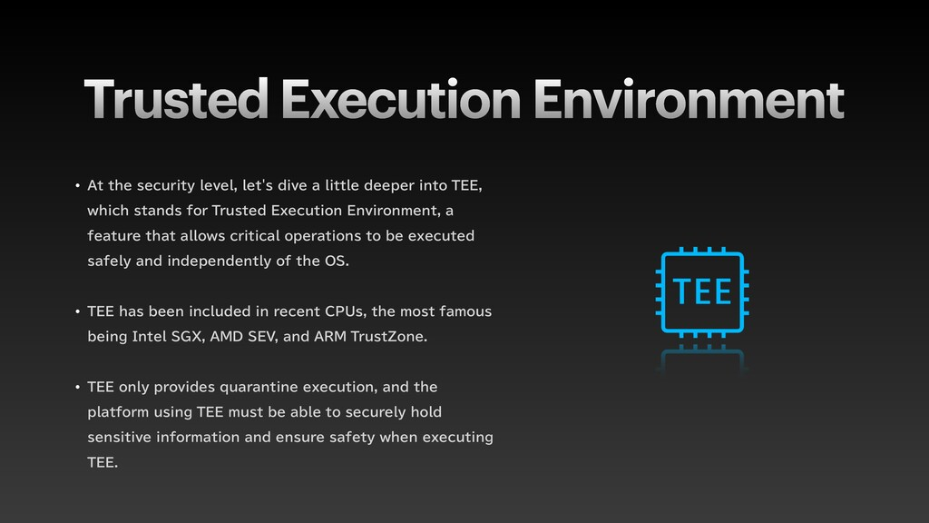 "Trusted Execution Environment w ""UUIFTFDVSJUZ..."