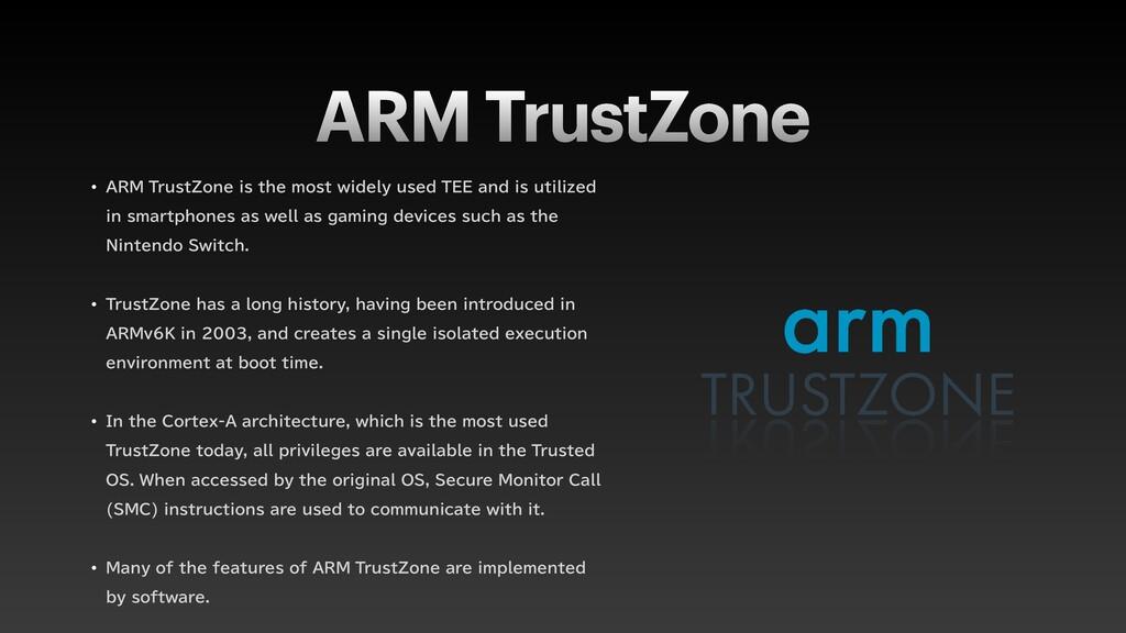 "ARM TrustZone w ""3.5SVTU;POFJTUIFNPTUXJEFM..."