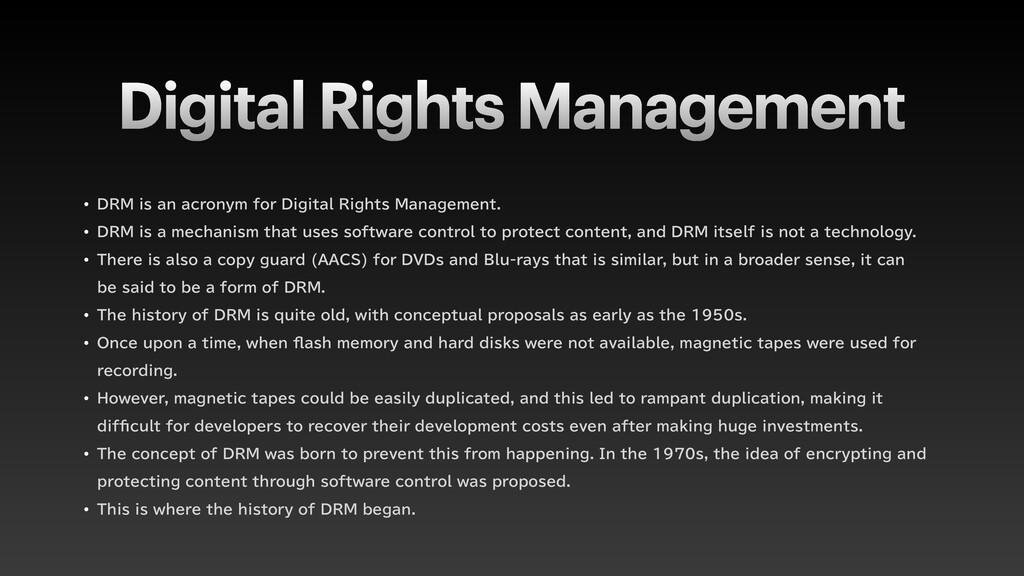 Digital Rights Management w %3.JTBOBDSPOZNG...