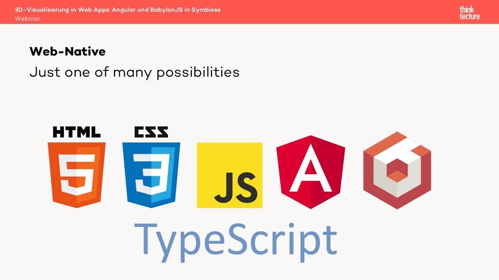 3D-Visualisierung in Web Apps: Angular und Baby...