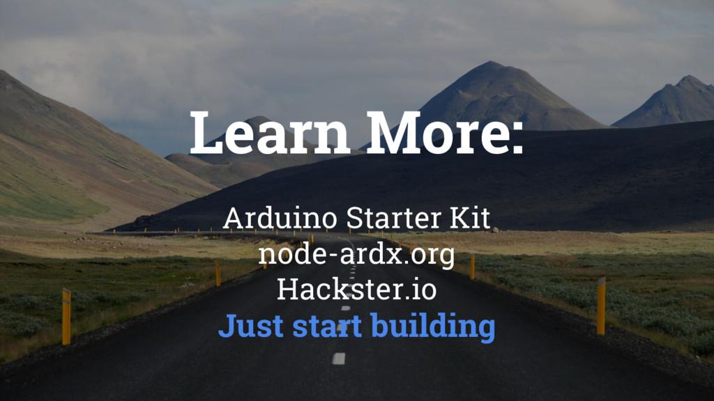 Arduino Starter Kit node-ardx.org Hackster.io J...