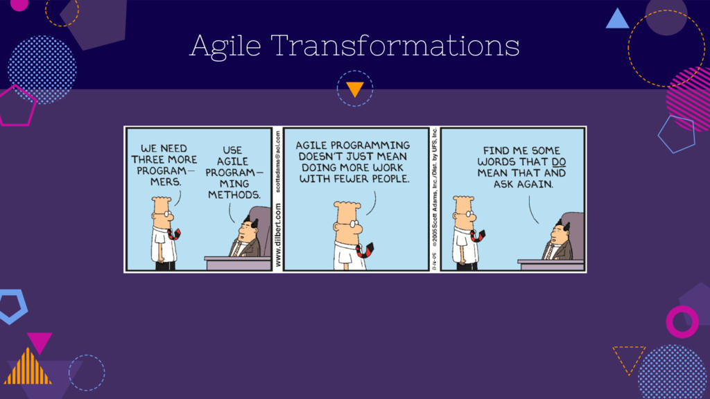 Agile Transformations