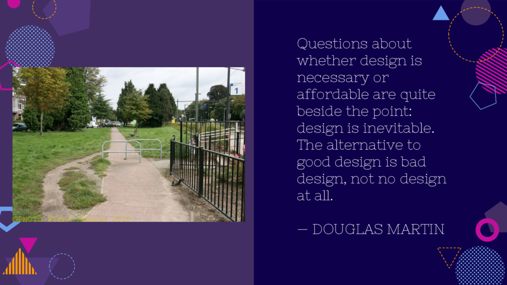 Questions about whether design is necessary or ...